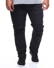 Big & Tall - Cargo Biker Denim Jeans (B&T)