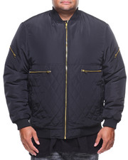 Big & Tall - Light Bomber Quilted Jacket (B&T)