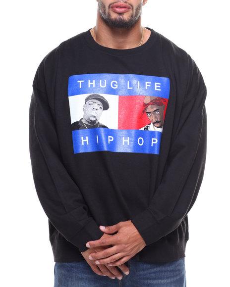 Buyers Picks - L/S Thug Life Hip Hop Sweatshirt (B&T)