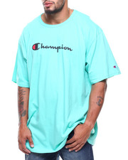 Big & Tall - S/S Retro Champion Script Tee (B&T)