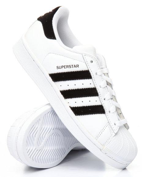 Adidas - Superstar J Sneakers (4-7)