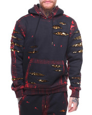 Buyers Picks - Brushed Painted Hoodie w Sequin
