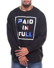 Big & Tall - L/S Paid In Full Sweatshirt (B&T)