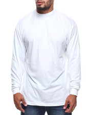 Big & Tall - L/S Long Solid Crew Neck Tee (B&T)