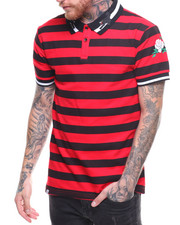 Buyers Picks - S/S Stripe Polo Contrast Collar