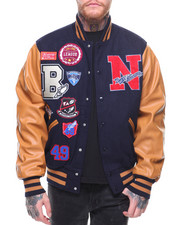 SMOKE RISE - Varsity Patch Jacket