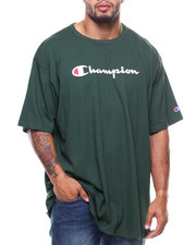 Big & Tall - S/S Retro Champion Script Tee (B&T)-2148518