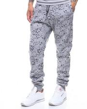 Sweatpants - SPLATTER PRINT FLLECE JOGGER