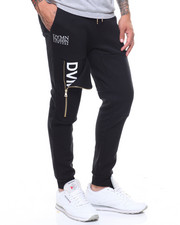 Jeans & Pants - Gold Zip Trim Jogger