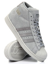 Adidas - PRO MODEL SUEDE - STRIPE SNEAKERS