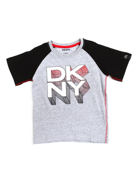 DKNY Jeans - Dimensional Tee (4-7)