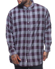 Men - L/S Harry Plaid Woven (B&T)
