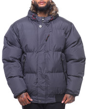 Men - Summit Fur Hooded Puffer Jacket (B&T)