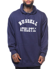 Russell Athletics - L/S Chest Logo Popover Hoodie (B&T)-2150333