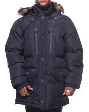 Outerwear - Base Camp Fur Hooded Bubble Jacket (B&T)