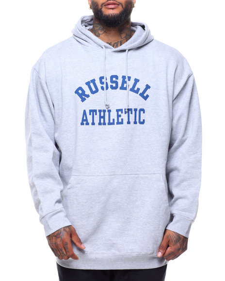 Russell Athletics - L/S Chest Logo Popover Hoodie (B&T)