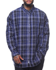 Button-downs - L/S Earl Plaid Woven (B&T)