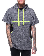 Men - MARLED FRENCH TERRY HOODY W COLOR CONTRAST DETAIL