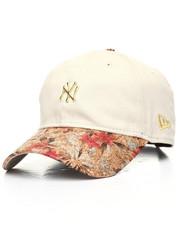 New Era - 9Twenty Cust Floral Brim Yankees Mini Gold Badge Dad Hat