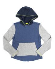 Boys - L/S Heavy Tonal Slub Jersey Hooded Tee (8-20)