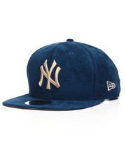Hats - 9Fifty Custom Suede Yankees Snapback Hat