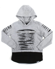 SWITCH - L/S Razor Slash Color Block Hoodie (8-20)