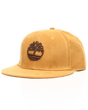 Timberland - Faux Suede Hat With Round Visor