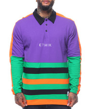 ETHIK CLOTHING CO - Retro Campus Rugby