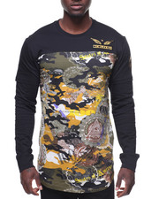 SWITCH - L/S Camo Foil Printed Tee