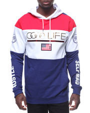 Buyers Picks - GOOD LIFE AMERICANA FOIL HOODY