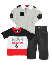 Sets - Rocawear Brooklyn 3 Piece Set (Infant)