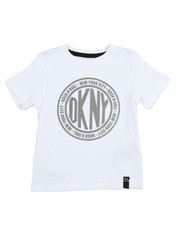 Sizes 2T-4T - Toddler - DKNY Token Tee (2T-4T)