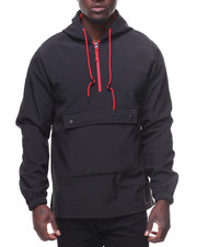 Akademiks - Dunk Quarter Zip Inside Polar Fleece Hooded Jacket