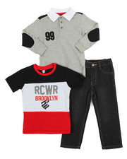 Sizes 2T-4T - Toddler - Rocawear Brooklyn 3 Piece Set (2T-4T)