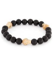 King Ice - King Ice Cut Onyx Buddha Meditation Beaded Bracelet