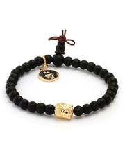 King Ice - Buddha Beaded Meditation Bracelet Onyx