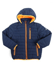 Outerwear - Bubble Bomber Hooded Jacket (2T-4T)
