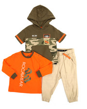 Sets - BK/NY 3 Piece Set (Infant)