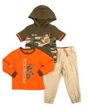 Sets - BK/NY 3 Piece Set (2T-4T)