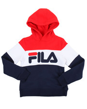 Sizes 7-20 - Big Kids - L/S Heritage Color Block Hoodie (7-16)