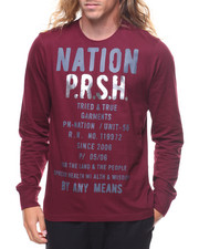 T-Shirts - Nation LS Tee