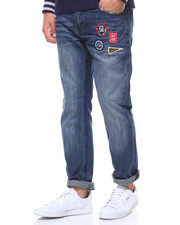 Jeans & Pants - Collegiate Patch Jean
