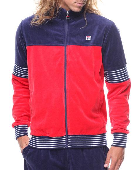 fila jogging suits. fila - marcus velour jacket jogging suits