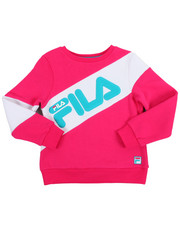 Sizes 7-20 - Big Kids - Heritage Color Block Crew Sweatshirt (7-16)