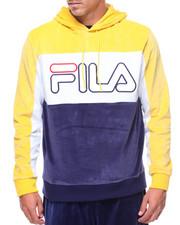 Fila - Baggio 3 Color Velour Hoody