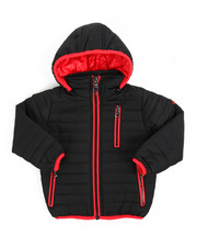 Arcade Styles - Bubble Bomber Hooded Jacket (2T-4T)