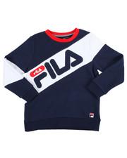 Sizes 8-20 - Big Kids - Heritage Color Block Crew Sweatshirt (8-20)