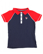 Sizes 7-20 - Big Kids - S/S Heritage Vintage Inspired Polo (7-16)