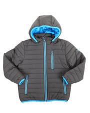 Sizes 8-20 - Big Kids - Bubble Bomber Hooded Jacket (8-20)