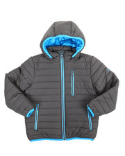 Arcade Styles - Bubble Bomber Hooded Jacket (8-20)
